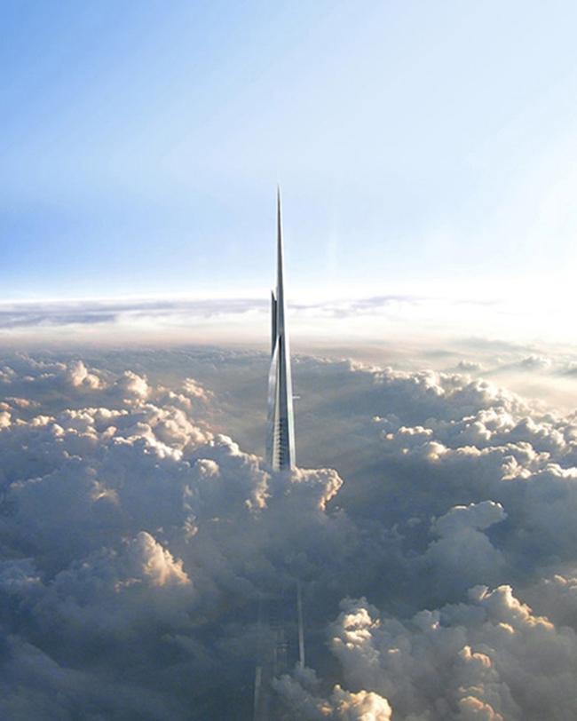 Hoàng tử Ảrập xây siêu tháp cao nhất thế giới