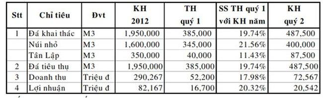 NNC: Quý I lãi ròng 14,1 tỷ đồng giảm 11,3% so với cùng kỳ