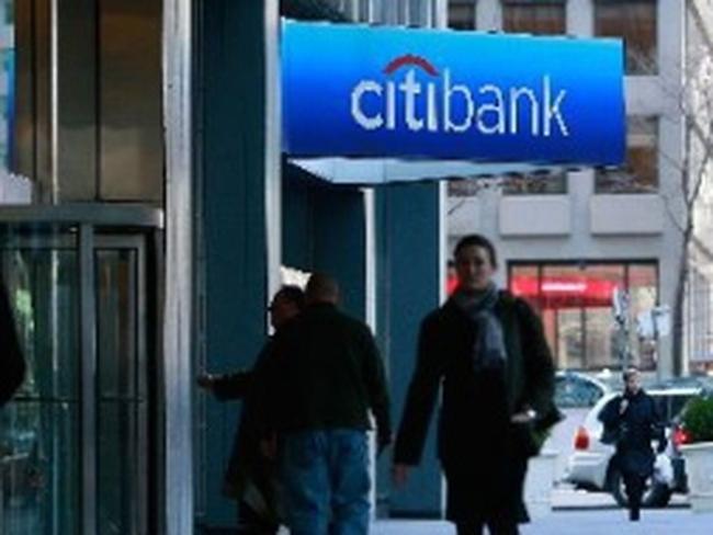 Lợi nhuận của Citigroup sụt giảm trong quý I/2012