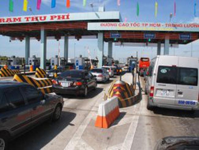 Giảm phí đường cao tốc TPHCM-Trung Lương