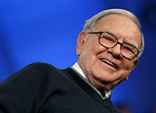Buffett vào top 100 người có ảnh hưởng nhất thế giới