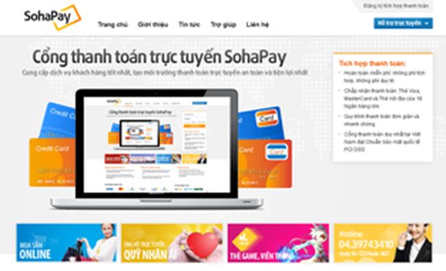 SohaPay tích hợp thêm 3 ngân hàng vào hệ thống thanh toán online