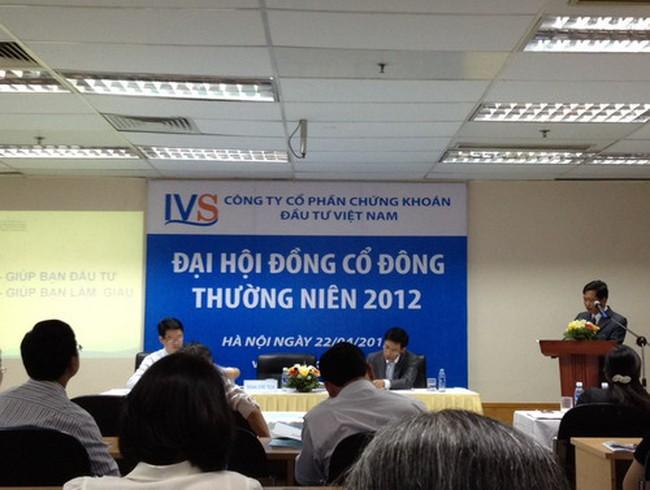 IVS: Thông qua việc tăng vốn gấp đôi lên 370 tỷ đồng, không chia cổ tức năm 2011