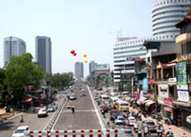 Hà Nội: Nhiều công trình hạ tầng giao thông được gấp rút hoàn thiện