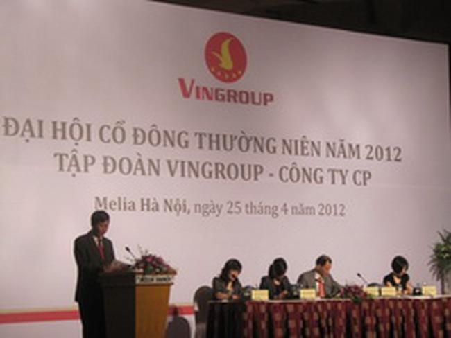 ĐHCĐ VIC: Đặt kế hoạch hơn 4.200 tỷ lợi nhuận trước thuế năm 2012