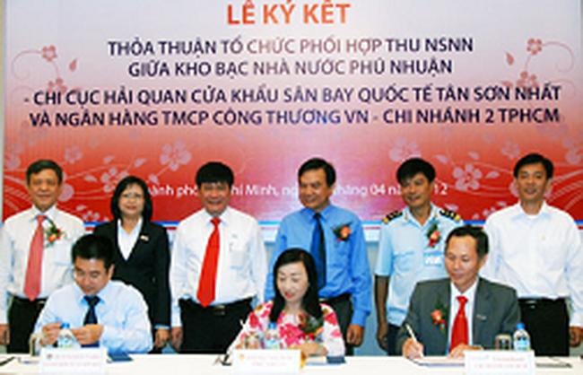 Hải quan Tân Sơn Nhất triển khai thu ngân sách qua Vietinbank