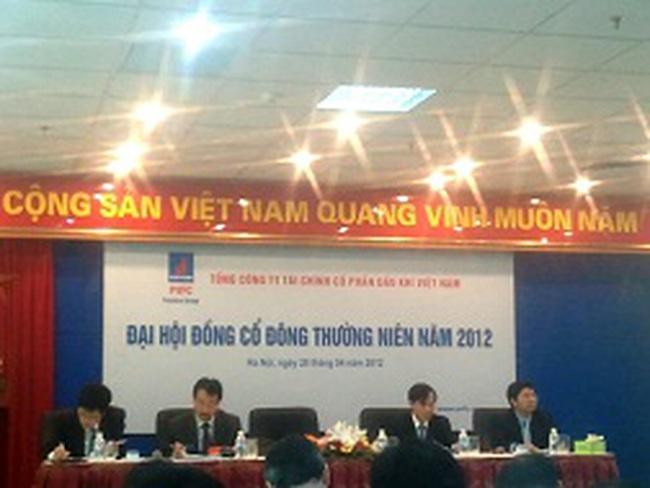 ĐHCĐ PVF: Năm 2012 dự kiến cơ cấu 2.800 tỷ đồng đầu tư kém hiệu quả