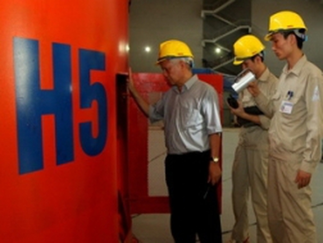 Tổ máy 5 Nhà máy thủy điện Sơn La hòa lưới điện