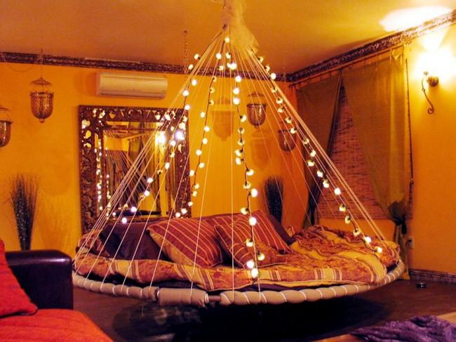 Ấn tượng với giường treo đa phong cách