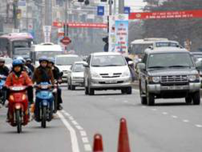 Triển khai thiết bị di động kiểm tra giao thông