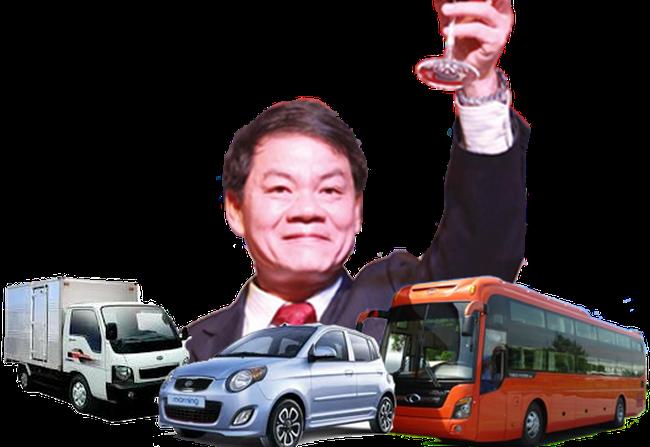 """[Hồ sơ] Trần Bá Dương - """"ông vua"""" thị trường ô tô Việt"""