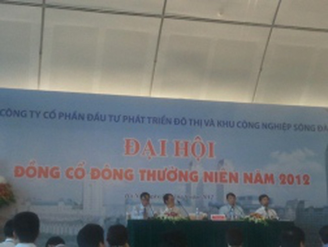 ĐHCĐ Sudico: Hạ màn, tập đoàn Sông Đà chấp nhận 2 ghế trong HĐQT