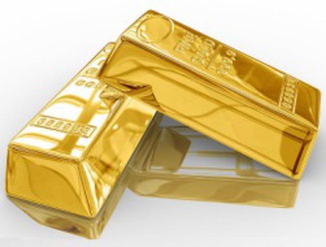 Giá vàng tăng gần 54 USD/ounce