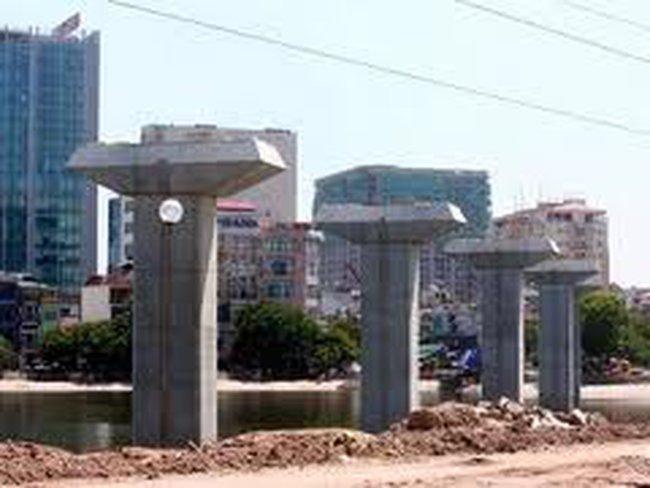 Phân luồng phục vụ thi công dự án đường sắt đô thị tuyến Cát Linh-Hà Đông