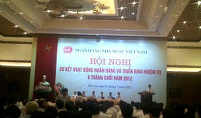 NHNN: Tín dụng đến 30/6 tăng 0,76% so với cuối năm 2011
