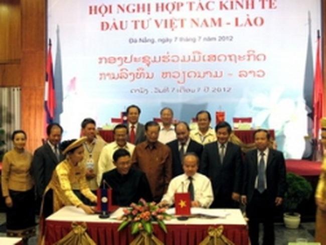 Hội nghị hợp tác kinh tế đầu tư Việt Nam và Lào