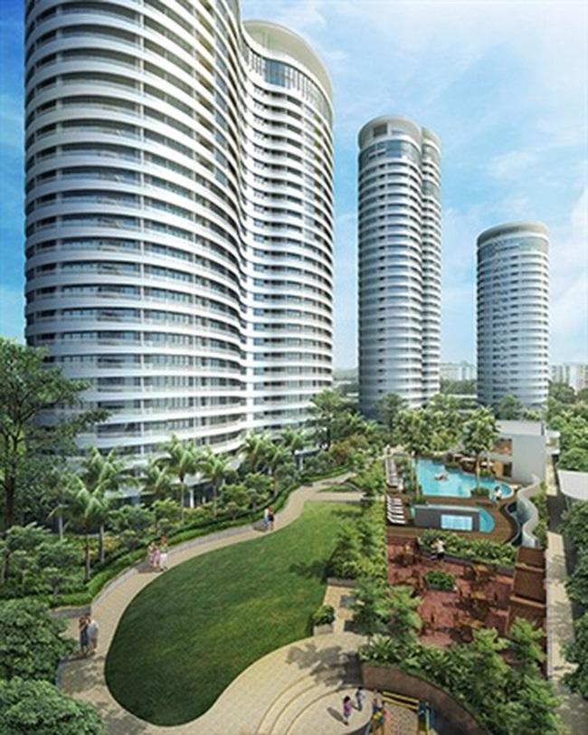 Dự án City Garden bắt đầu giao nhà