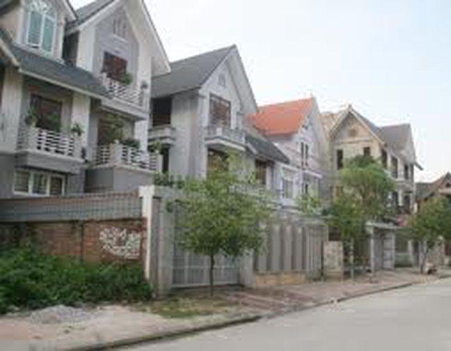 """Hà Nội: """"Thời điểm vàng"""" mua biệt thự, nhà liền kề ?"""