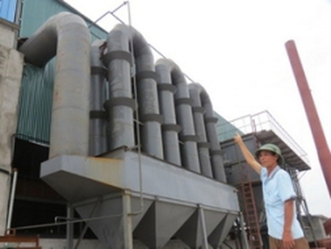 Dỡ nhà máy sản xuất tinh bột Volfram xây trái phép