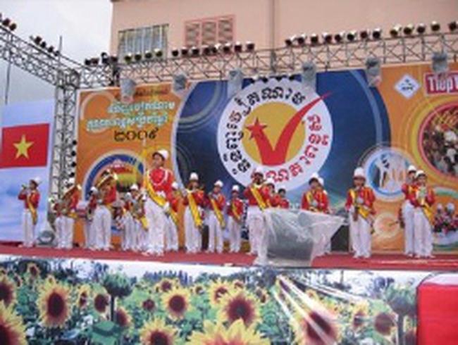 Hội chợ hàng Việt Nam chất lượng cao tại Campuchia bị tuýt còi