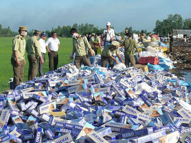 Tăng cường đấu tranh chống buôn lậu thuốc lá