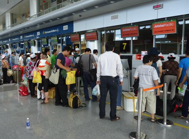 Vietnam Airlines thay đổi thời gian mở, đóng quầy làm thủ tục