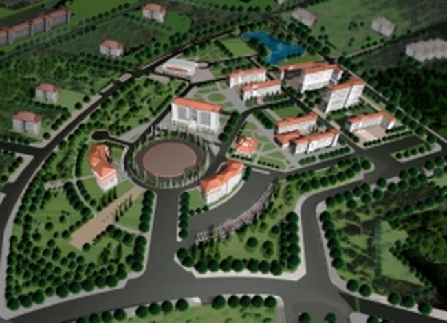 Quy hoạch đất di dời trường Đại học: Đã chuẩn bị xong