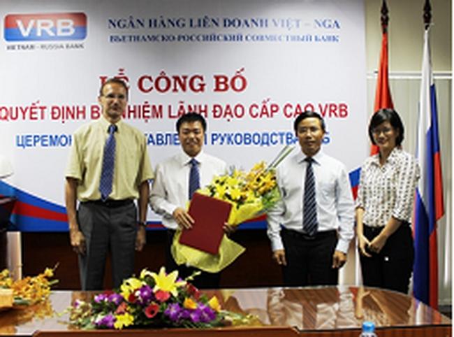 Ngân hàng VRB bổ nhiệm ông Đoàn Minh Tiến làm tổng giám đốc