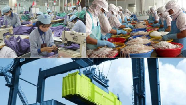 Xuất siêu trở lại, tháng 10 chính thức thặng dư thương mại hơn 100 triệu USD