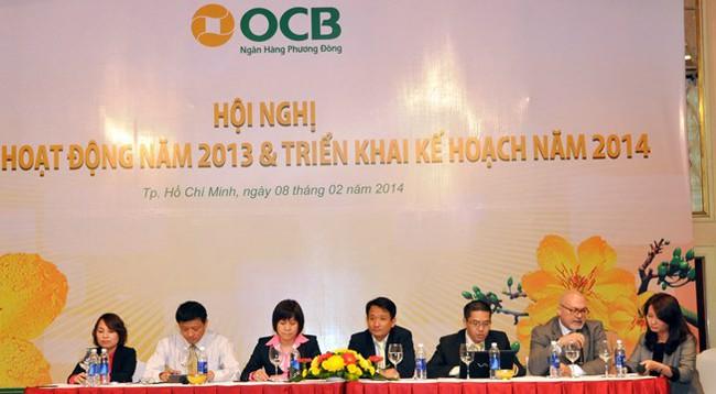 Ngân hàng OCB đạt 320 tỷ đồng lợi nhuận trong năm 2013