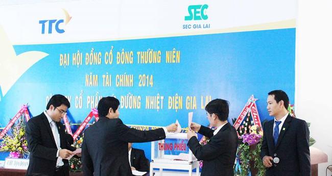 Mía đường Nhiệt điện Gia Lai –SEC thông qua phương án sáp nhập với SBT
