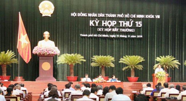 TP. Hồ Chí Minh dự kiến họp HĐND thứ 16, Khóa VIII từ ngày 9-12/12