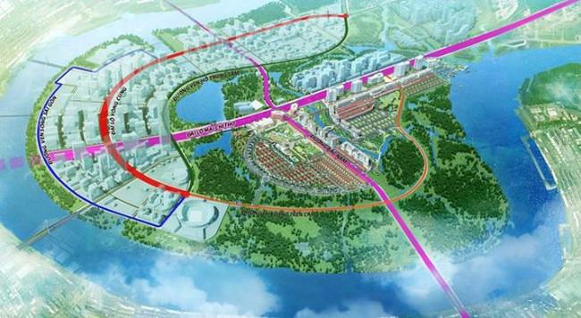 Gần 12.000 tỷ đồng xây dựng 4 tuyến đường chính ở KĐT mới Thủ Thiêm