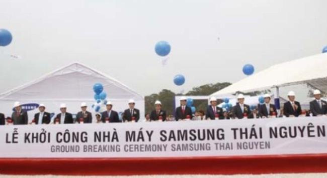 Top 500 doanh nghiệp lớn nhất - Samsung Electronics Việt Nam xếp thứ 2
