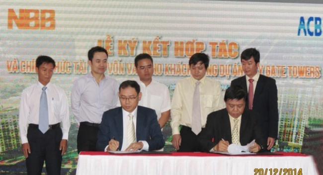 NBB và Creed Group ký kết hợp tác chiến lược phát triển hơn 10.000 căn hộ 1 tỷ đồng