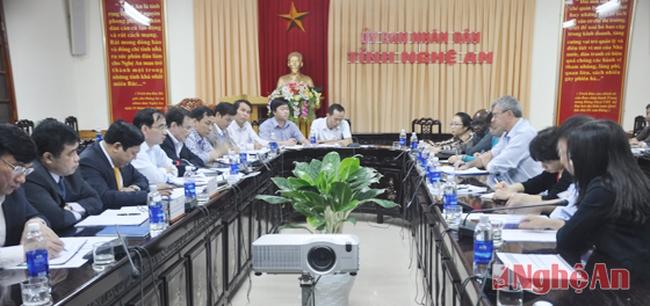 Nghệ An: Đẩy nhanh tiến độ Dự án phát triển đô thị Vinh