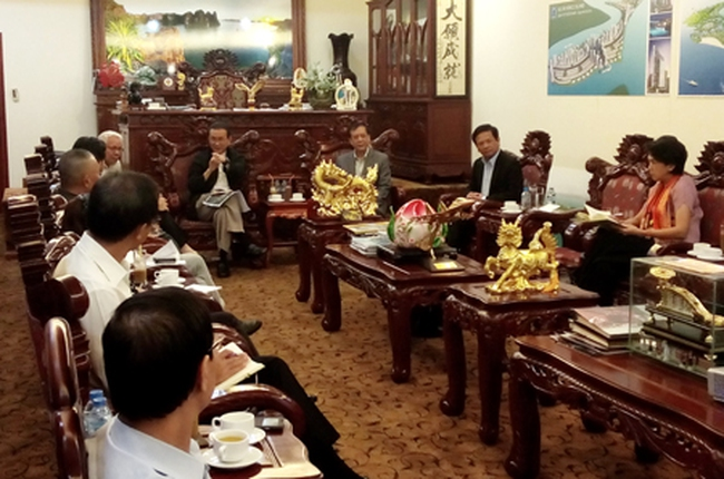Quảng Ninh làm việc với liên doanh Amata và Tuần Châu về dự án KCN-CNC 2 tỷ USD