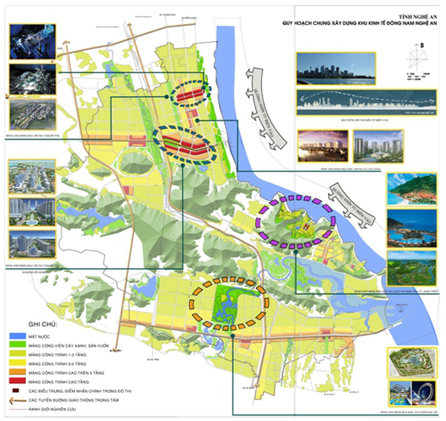 Nghệ An: Mở rộng Khu kinh tế Đông Nam lên hơn 20.000 ha