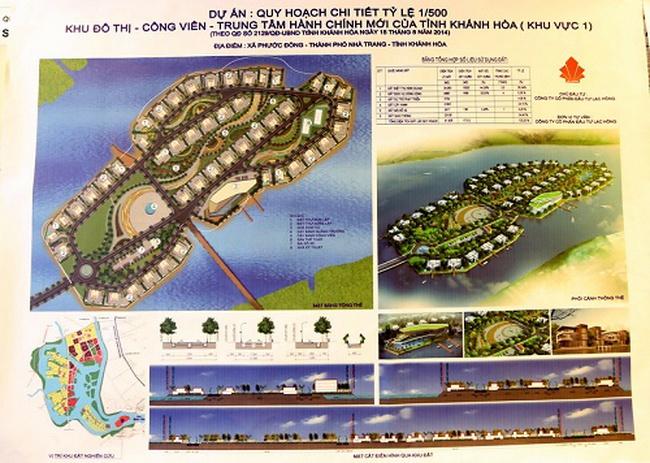 Khánh Hòa sắp có Khu đô thị - Công viên Trung tâm diện tích khoảng 9,2ha tại Phước Đồng