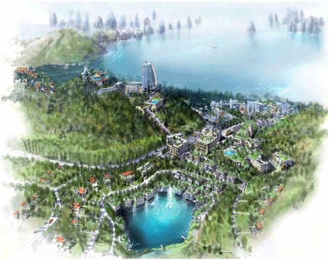 Dự án Khu Đô thị - Du lịch Hạ Long Star được cam kết đầu tư 550 triệu USD