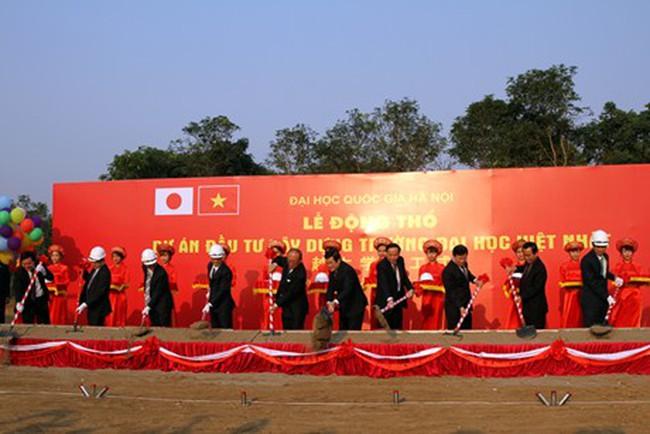 Đầu tư 365 triệu USD xây Đại học Việt–Nhật