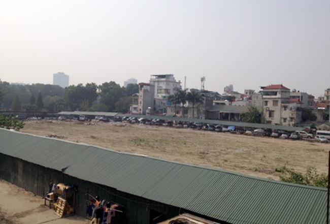 """UBND TP Hà Nội lên tiếng về """"Bãi đỗ xe ngầm trong công viên Thống Nhất"""""""