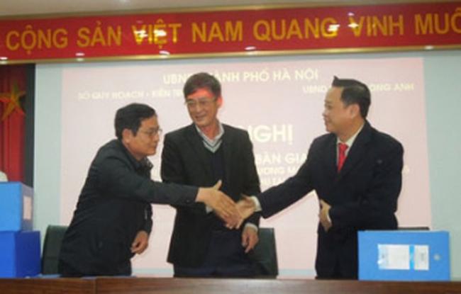 Công bố và Bàn giao quy hoạch chi tiết 1/500 khu tái định cư X2 Kim Chung