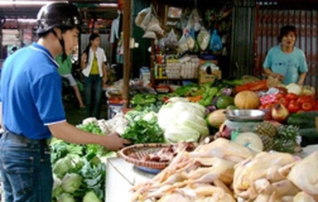 Giá hàng tiêu dùng có thể tăng nhẹ trong tháng 4