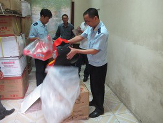 Hải quan Quảng Ninh liên tục bắt giữ lượng lớn hàng nhập lậu