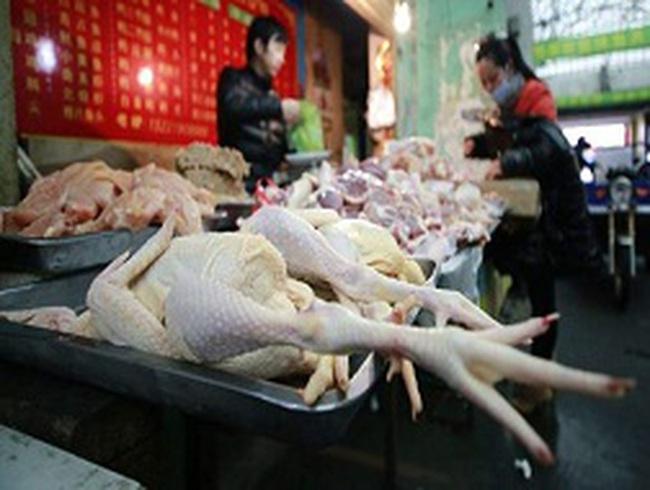 Trung Quốc tẩy chay thịt gà