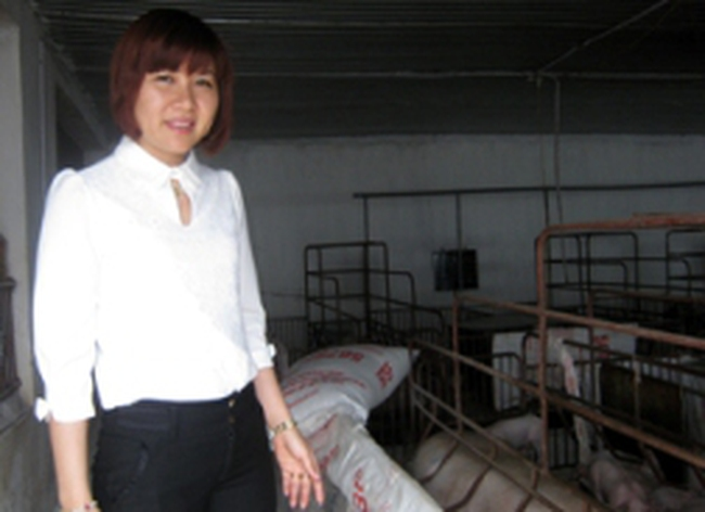 Trở thành tỷ phú nhờ nuôi lợn