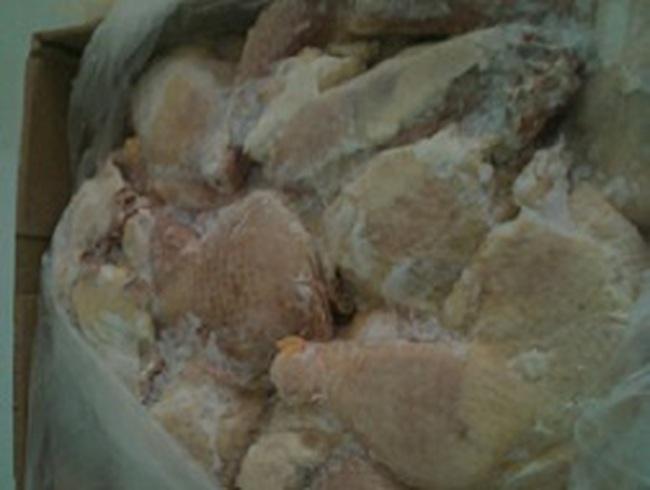 'Bốc hơi' 1.425 tấn thịt đông lạnh tại Mộc Bài