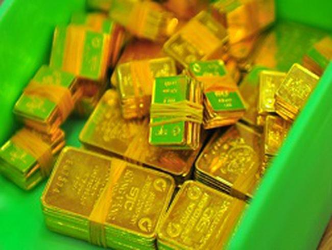 Phiên đấu thầu ngày 24/4: NHNN bán được 25.600 lượng vàng