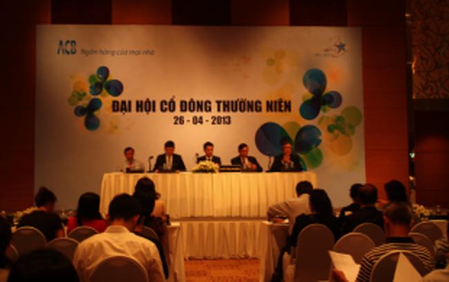 ĐHCĐ ngân hàng ACB: 3 người nhà ông Hùng trúng cử HĐQT nhiệm kỳ mới